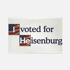 I Voted Heisenberg Rectangle Magnet
