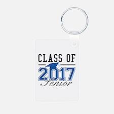 Class Of 2017 Senior Aluminum Photo Keychain