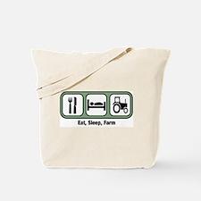 Eat, Sleep, Farmer Tote Bag