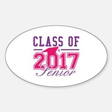 Class Of 2017 Senior Sticker (Oval)