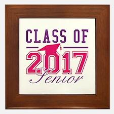 Class Of 2017 Senior Framed Tile