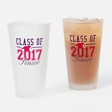 Class Of 2017 Senior Drinking Glass