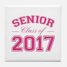 Class Of 2017 Senior Tile Coaster