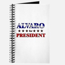 ALVARO for president Journal