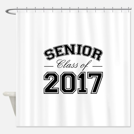 Class Of 2017 Senior Shower Curtain