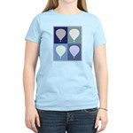 Hot Air Balloon (blue boxes) Women's Light T-Shirt