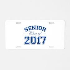 Class Of 2017 Senior Aluminum License Plate