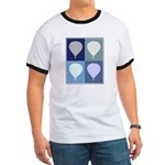 Hot Air Balloon (blue boxes) Ringer T
