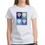 Hot Air Balloon (blue boxes) Women's T-Shirt