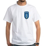 8th infantry airborne Mens White T-shirts
