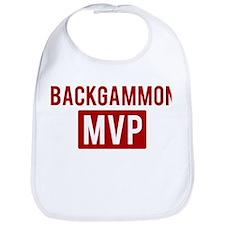Backgammon MVP Bib