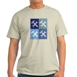 Handyman (blue boxes) Light T-Shirt