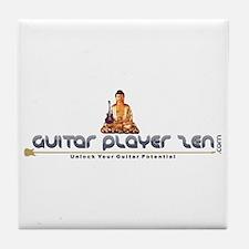 GuitarPlayerZen.com Tile Coaster