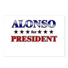ALONSO for president Postcards (Package of 8)