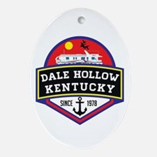 Cool Dale Oval Ornament