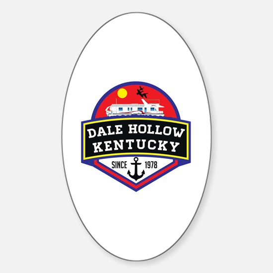 Funny Dale Sticker (Oval)