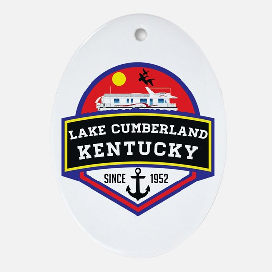 Cute Boating Oval Ornament