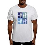 Fatherhood (blue boxes) Light T-Shirt