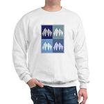 Family (blue boxes) Sweatshirt
