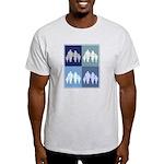 Family (blue boxes) Light T-Shirt