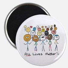 All Lives Matter 2 Magnets