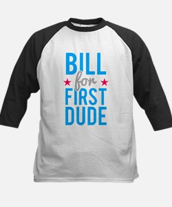 Bill Clinton for First Dude Baseball Jersey