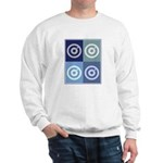 Darts (blue boxes) Sweatshirt