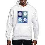 Darts (blue boxes) Hooded Sweatshirt
