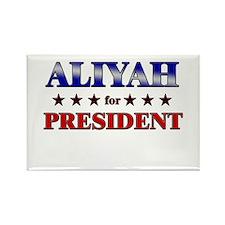 ALIYAH for president Rectangle Magnet