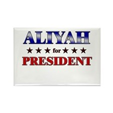 ALIYAH for president Rectangle Magnet (10 pack)