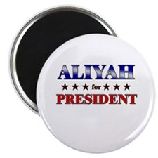 ALIYAH for president Magnet