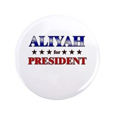 "ALIYAH for president 3.5"" Button"