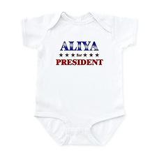 ALIYA for president Infant Bodysuit