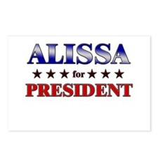 ALISSA for president Postcards (Package of 8)