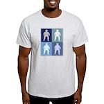 Cowboy (blue boxes) Light T-Shirt