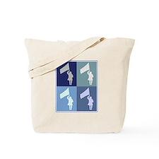Color Guard (blue boxes) Tote Bag