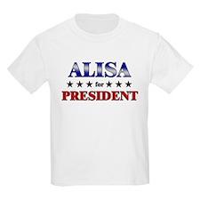 ALISA for president T-Shirt