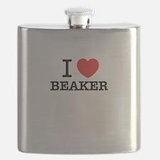 I Love BEAKER Flask