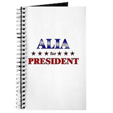 ALIA for president Journal