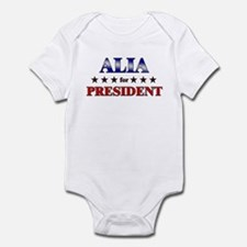 ALIA for president Infant Bodysuit