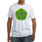 HEART CHAKRA Fitted T-Shirt