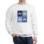 Breakdancing (blue boxes) Sweatshirt