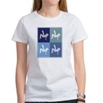 Breakdancing (blue boxes) Women's T-Shirt
