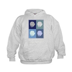 Boxing (blue boxes) Hoodie