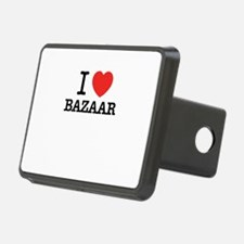 I Love BAZAAR Hitch Cover