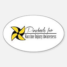 Pinwheels original logo Decal