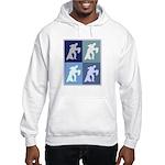 Ballroom Dancing (blue boxes) Hooded Sweatshirt