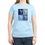 Ballerina (blue boxes) Women's Light T-Shirt