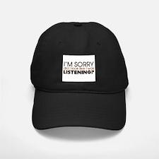 Listening Baseball Hat