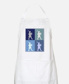Bagpipes (blue boxes) BBQ Apron